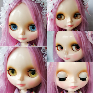 Image 4 - Neo Blyth Doll Customized NBL Shiny Face,1/6 OB24 BJD Ball Jointed Doll Custom Blyth Dolls for Girl, Gift for Collection NBL01