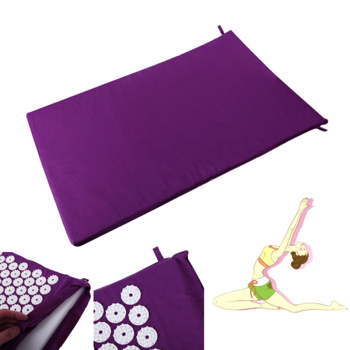 SEC88 Acupressure Massage Mat with Pillow set for Stress Pain and Tension Relief 14