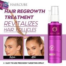 HAIRCUBE Stop Anti utrata włosów szybkie produkty stymulujące porost włosów mężczyźni kobiece włosy wzrost Spray Essence Essential Oil płyn przywrócenie