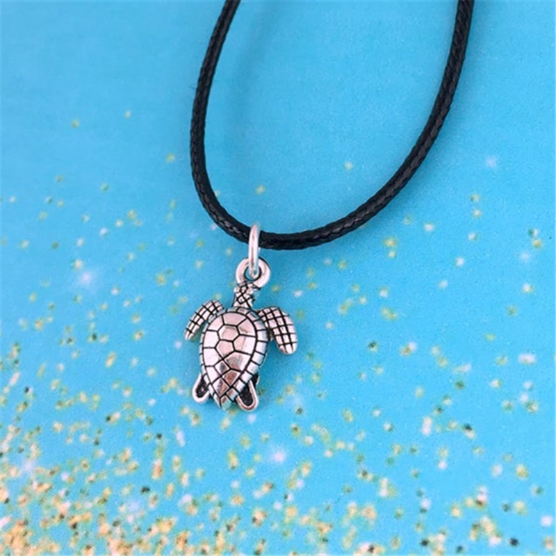 Turtle Choker Necklace, Sea Turtle jewelry for men necklace, beach jewelry, sealife gift, unisex necklace, ocean choker