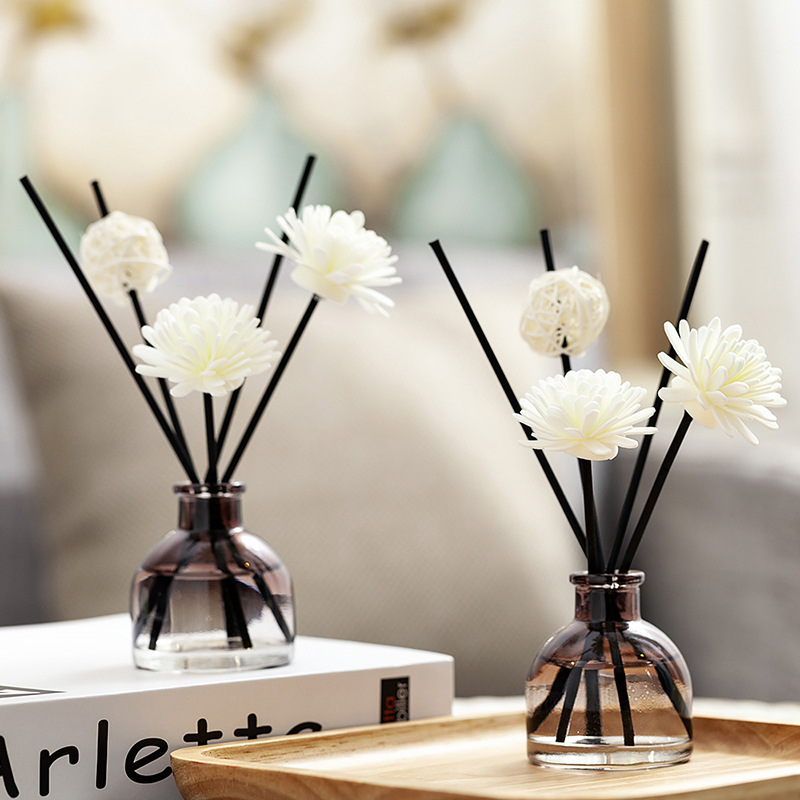 1PCS 50ml Reed Diffuser Sets Bedroom Air Freshener Scented Aromatherapy Essential Oil For Gift