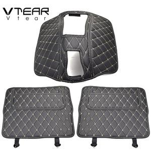 Image 4 - Vtear havalı F7 F7X koltuk pedi arka kapak koruyucu anti kick mat araba anti dirty pad korumak yastık iç aksesuarları parçaları
