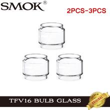 2 sztuk-3 sztuk oryginalny SMOK TFV16 Pyrex szkło od żarówki Tube dla E papieros SMOK TFV 16 Tank 9ml atomizer tanie tanio Szklana Rurka TFV16 Pyrex Bulb Glass Tube