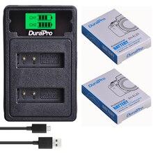2pcs DuraPro EN-EL23 EN EL23 1850mAh Rechargeable Li-ion Battery + LCD USB Charger for Nikon COOLPIX P600 S810c P900 P610 Camera стоимость