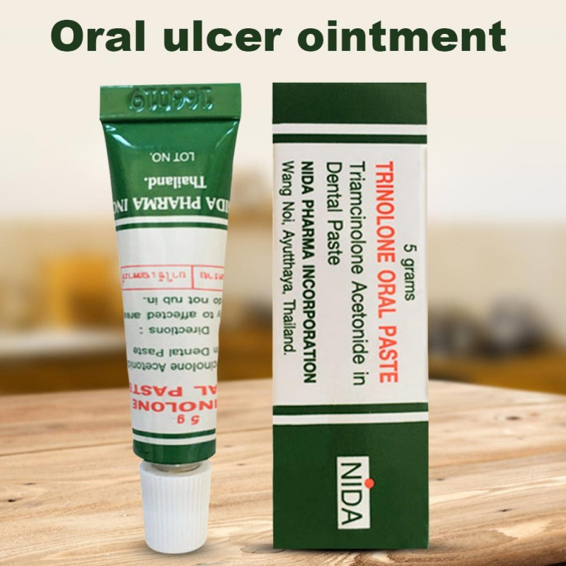 Anti-inflammatory Oral Ulcer Cream Effective Practical Pain Relieving Oral Ulcer Paste Oral Disinfection Treatment