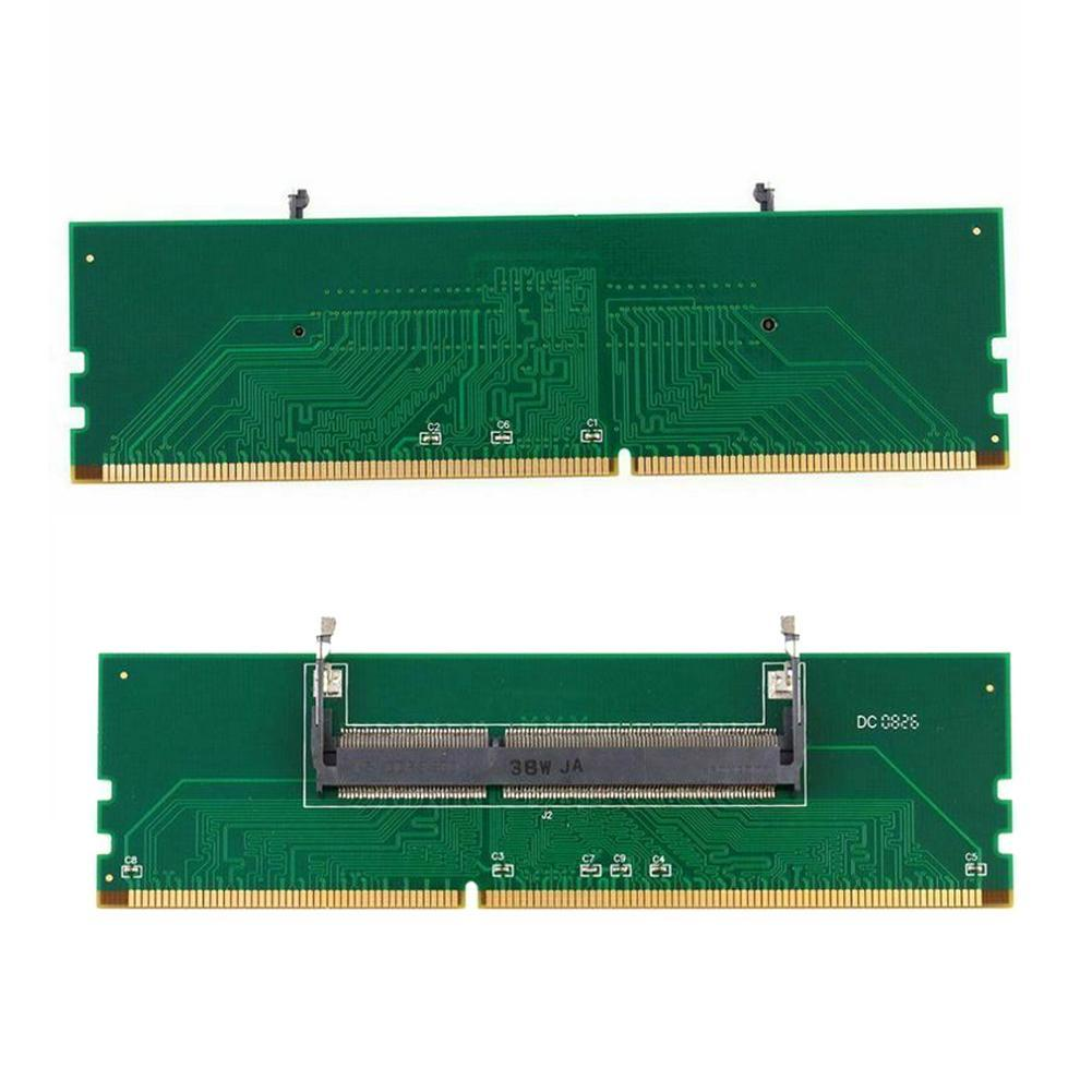 DDR3 SO-DIMM To Desktop Adapter Card DIMM Connector Memory Adapter Card 240 To 204P Computer Memory Adapter