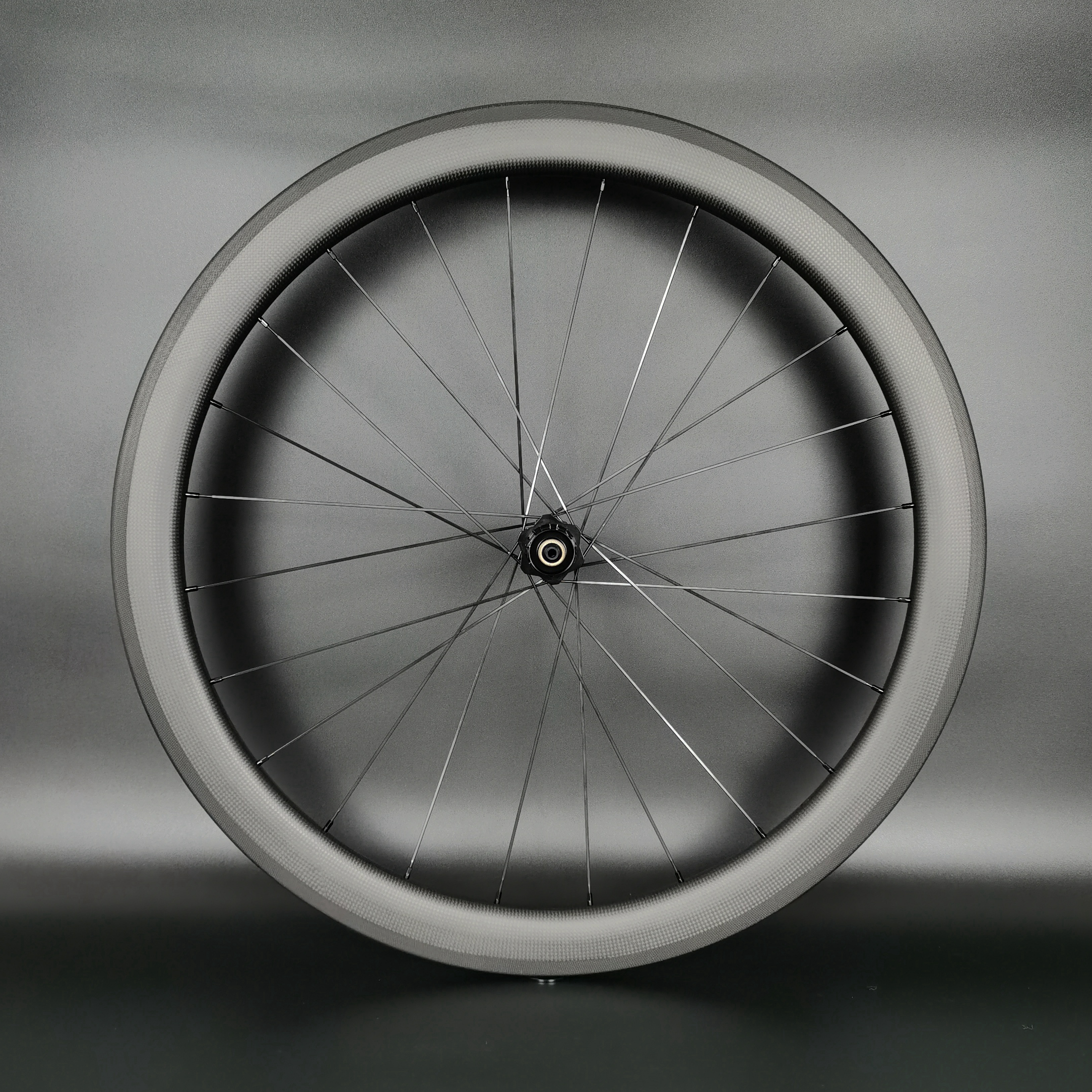 Image 4 - Ruedas de carbono para bicicleta de carretera 700C, cubierta de 50mm de profundidad y 25mm de ancho, juego de ruedas de carbono Tubular para bicicleta con acabado mate 3kRueda de bicicleta   -