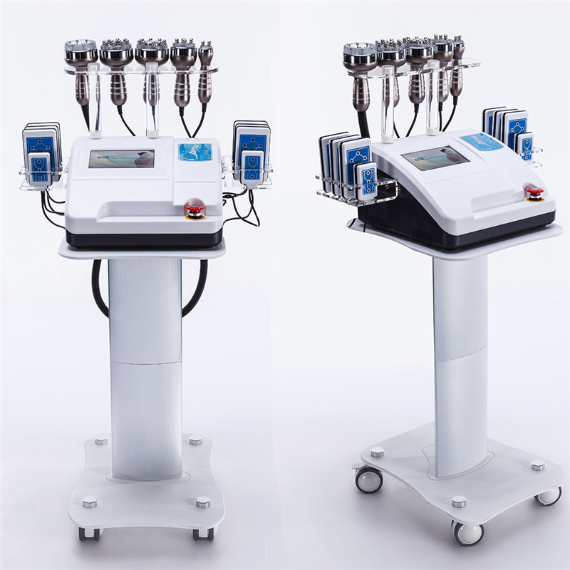 2020 Newest 8 In 1 Liposuction Cavitation Laser Slimming Machine Vacuum RF Skin Care Equipment For Spa