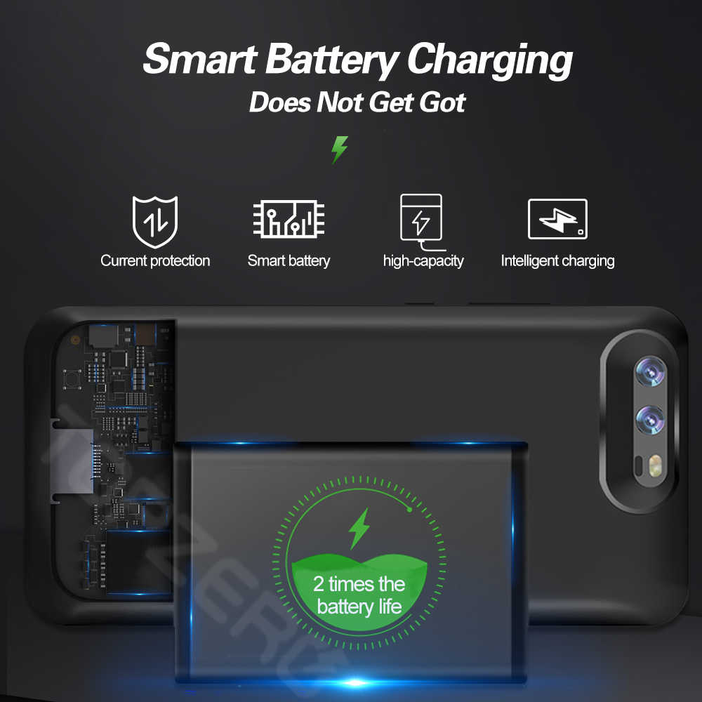 Pin Dành Cho Huawei Honor V10 Mate 9 10 Pro 20x Di Động Sạc Power Bank Dành Cho Huawei P10 Plus p20 Pro Điện Ốp Lưng