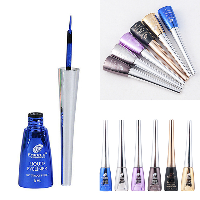 6 Colors Long-lasting Liquid Eyeliner Waterproof Starry Blue Quick-dry Cosmetics glitter Eye Shadow Pencil Makeup Beauty Tools 3