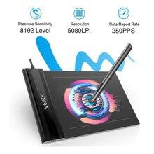 Планшет для рисования veikk s640 графический планшет ультратонкий