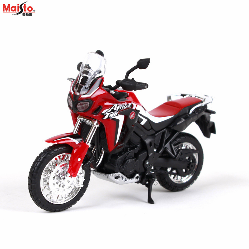 Maisto 1:18 12 Styles Honda Africa Twindct Original Authorized Simulation Alloy Motorcycle Model Toy Car Collection Gifts