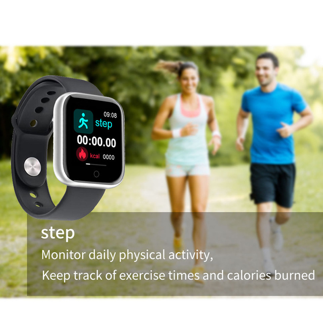 Smart Watch for women for Android iOS Phones 2020 Version IP67 Waterproof, Bluetooth, Heart rate tracker 5