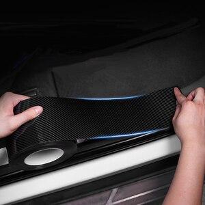 Image 2 - 5D 車のステッカー炭素繊維ビニール 3D ステッカー防水フィルム自動車ドアバンパープロテクター室内装飾アクセサリー