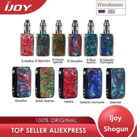 New Original IJOY Shogun Univ 180W TC Kit with Shogun Univ MOD & 5.5ml Katana Tank no 18650 battery box mod vape kit vs Luxe kit