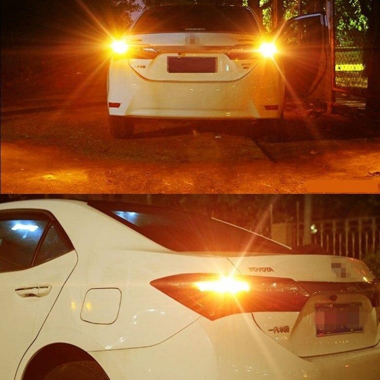 2PCS Car Turn Signal LED Command light headlight modification For Toyota HARRIER 12V 10W 6000K