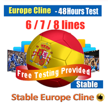Receiver Server CCCAM 6 7 8 lines Cline 1 Year HD Server Account For Satellite receiver Spain UK Germany French Italy Spain