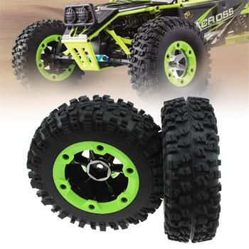 Remote Control Car Tires Rubber Mini Tire Set Wheel Rim Tyre Accessories For WLtoys 12428 Off-road Vehicles