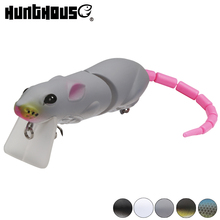 Hunthouse hard fishing lure bass pike trout wobblers spoon accessories winter gear artificial predator pro bbz-1 rat
