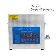 10L Ultrasonic Cleaner Degas Time Heat Power Set Oil Rust Degreaser Engine Block Part Mold Lab Metal Screw Ultrason Sonic Washer