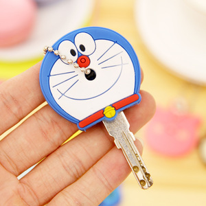 2020 Protective Key Case Cover for Key Control Dust Cover Holder Cartoon Silicone Organizer Home Accessories Supplies