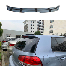цена на Piano black ABS material Rear Roof Spoiler Wing for Volkswagen VW Golf 6 MK6 VI GTI R20 2010 - 2013