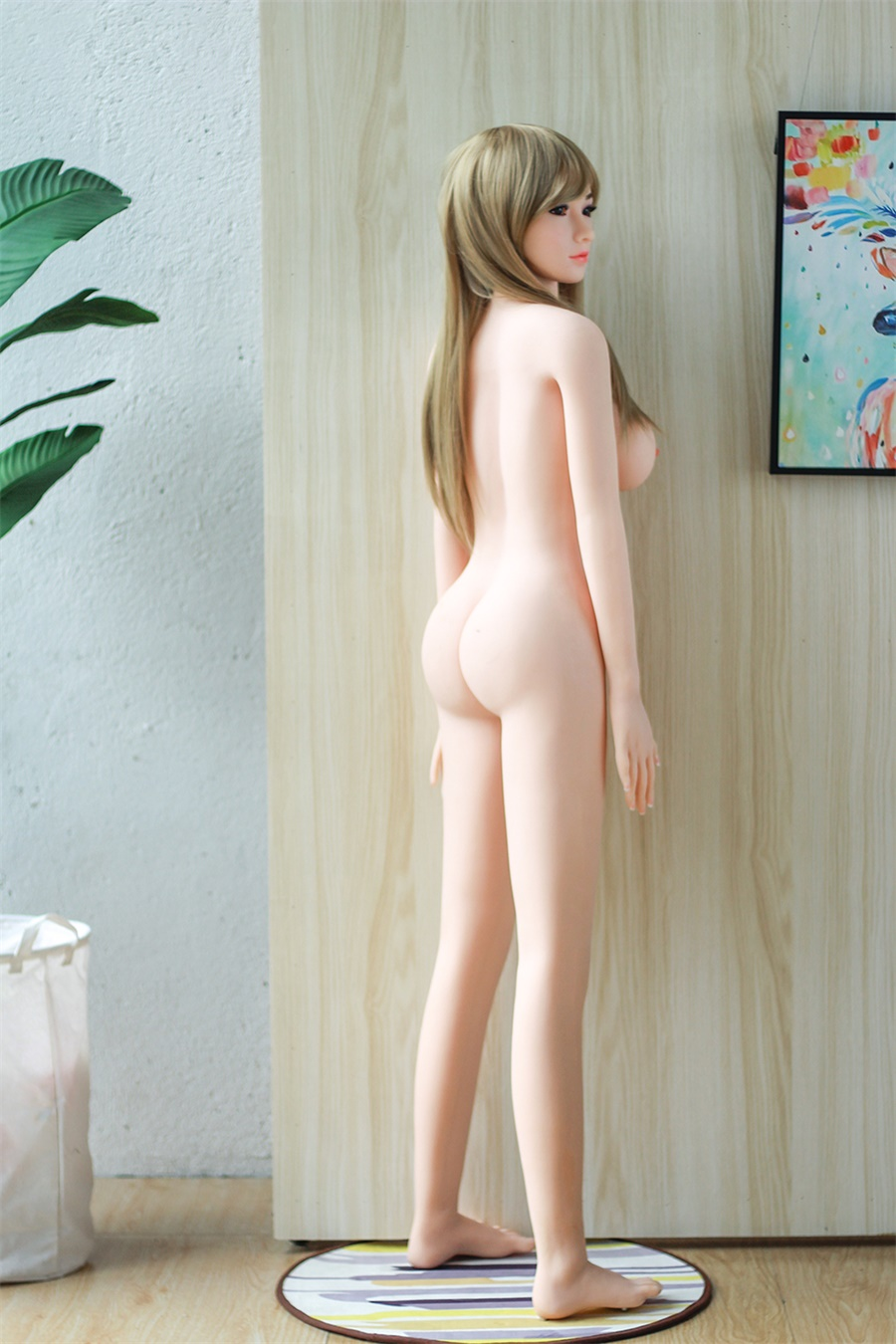 Hfc7b4e7b9e6248bf997dfc068778c8a6q 158Cm Real Silicone Japanese Anime Girl Sex Dolls Artificial Breast Oral Vagina Full AV Tits Poupee for Men Ass Pussy Porno Toys