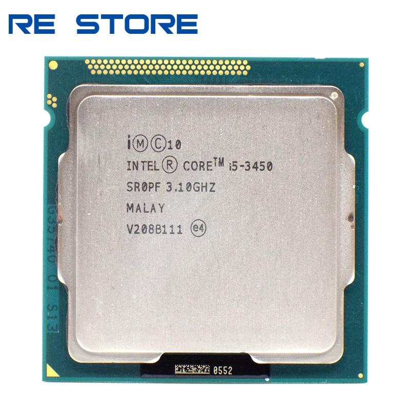 Б/у процессор Intel Core i5 3450 3,10 ГГц, четырехъядерный процессор 6M Socket 1155, процессор SR0PF processor t9500 processor p4processor intel dual core   АлиЭкспресс