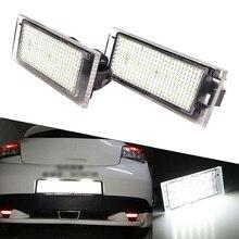 2X luce targa a LED per RENAULT Twingo Clio Megane Laguna