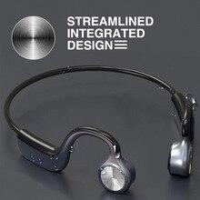 원래 무선 헤드폰 뼈 전도 블루투스 BT 5.0 이어폰 Binaural 스테레오 소음 감소 HD 음질 이어폰