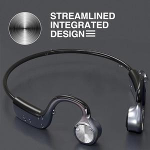 Image 1 - Original Wireless Headphones Bone Conduction Bluetooth BT 5.0 Earphone Binaural Stereo Noise Reduction HD Sound Quality Earphone