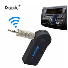 Мини Bluetooth адаптер 3,5 мм AUX аудио MP3 музыкальный приемник автомобильный комплект Беспроводной Громкая Связь Динамик адаптер для наушников для iphone