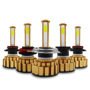 Image 5 - 12000Lm 6500K H4 LED H7 hb4 9006 hb3 9005 H8 H11 Automatique Dampoules de Phare de Voiture de 4 Côtés Puce Led s Voiture Lumières Ampoules LED H4 H7 Lampes Automatiques
