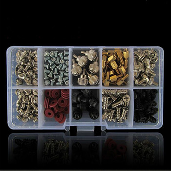 228PCS Accessories DIY For Motherboard Mounting Hardware Screws Repair Tool Hard Disk Computer For PC With Case Set new arrival 1100pcs set computer screws kit for pc case hard drive motherboard mounting screws fasteners tools set