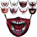 Маска для лица Joker, Пылезащитная моющаяся маска для косплея Хоакина Феникса Артура Fleck, фильтр