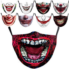 Joker joaquin phoenix arthur fleck cosplay máscara protetora à prova de poeira adulto crianças máscaras filtro lavável