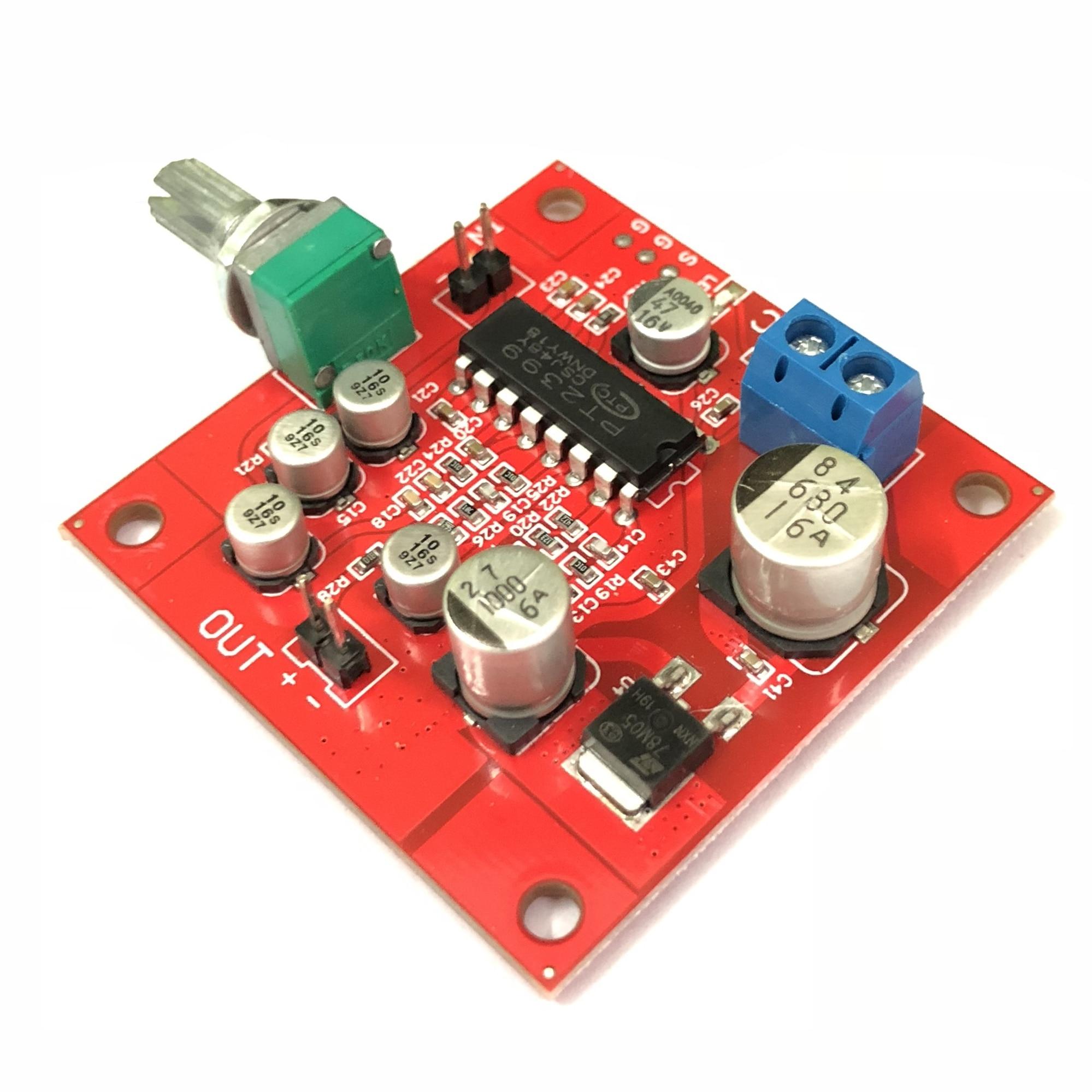 Placa de reverberação da placa do reverberation do microfone pt2399 nenhum módulo da função do pré amplificador|Circuitos integrados|   -