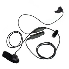 Two Way Ear Bone Vibrate Ptt Headset for Motorola Uv-9R Bf-9700 Bf-A58 Gt-3Wp R760 Uv-82Wp Uv9Rplus(China)