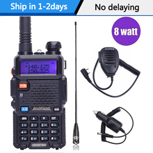 Baofeng UV 5R 8W High Power Powerful walkie talkie Two Way Radio 8Watts cb portable radio 10km long range pofung UV5R Hunting