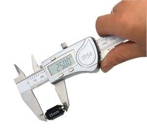 Image 1 - Eletrônico digital caliper 150mm à prova dwaterproof água ip54 digital caliper micrômetro guage aço inoxidável vernier caliper ferramenta de medição