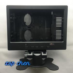 10.1 pollici 16:10 LCD display dello schermo di 16:9 custodia In Plastica Borsette HDMI VGA AV per Raspberry Pi Bordo di Driver LCD telaio lavoro