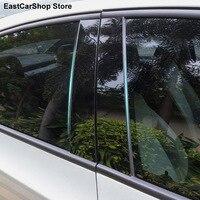 Auto Tür Fenster Mittleren Spalte Trim B C Streifen Schutz Schwarz Abdeckung für Chery Tiggo 8 Plus 7 5 5X tiggo 3 3X 2021 2020 2014-2019
