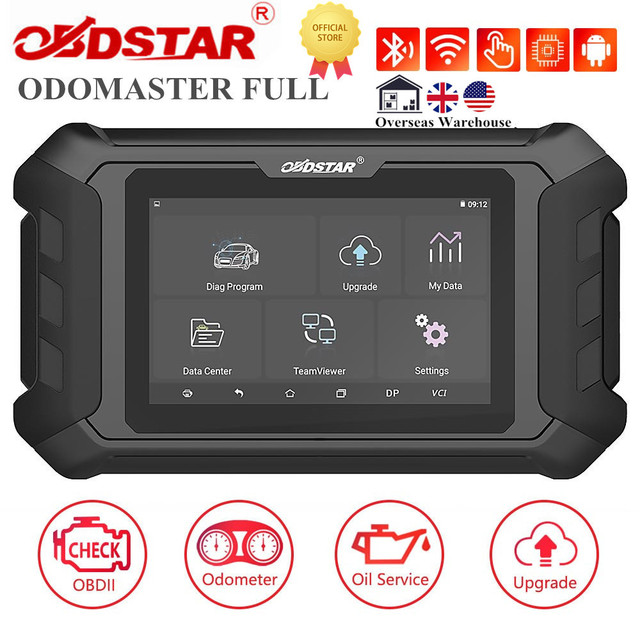[UK/US Ship]OBDSTAR ODOMASTER ODO MASTER Odometer Adjustment/OBDII and Special Functions Cover More Vehicles Models Than X300M