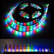 holiday Led lights outdoor SMD Color Changing LED Strip Light with Remote Controller Indoor String Lights AP3(China)