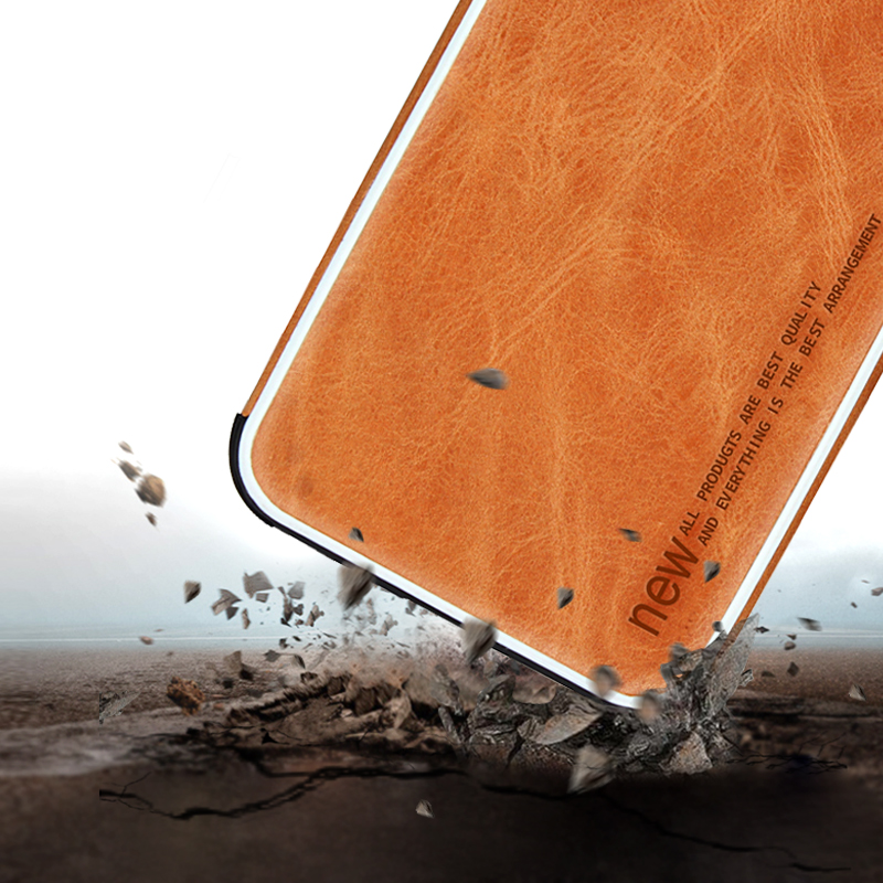 iPhone Xs Max Case luxury vintage leather case for iPhone X XR XS Max shockproof leather phone case