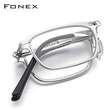 Haute qualité pliant lunettes de lecture hommes femmes pliable presbytie lecteur hyperopie dioptrie lunettes sans vis lunettes