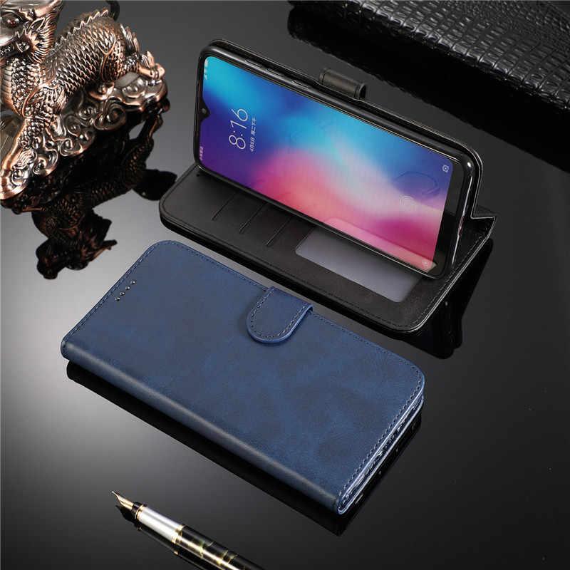 หนัง Magnetic Flip Case สำหรับ Xiaomi 10 9 8 6X A2 S2 F1 A2 A3 Lite Y3 9T 9T Pro CC9 CC9E A3 9 Pro 5G cc9 หมายเหตุ 10 Pro 10 9 Pro