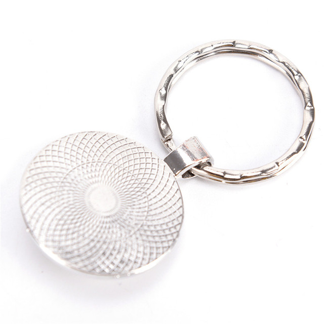 Glow In The Dark Wolf Key Chain Key Rings Holder Luminous Wolf Head Keychain Men Jewelry Gift 5