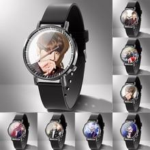Relojes de goma para amantes de los hombres, reloj personalizado, foto, logotipo, mecanizado, regalo familiar, 1 unidad