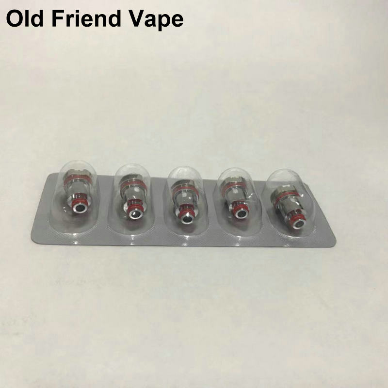 5PCs Coil Coils Mesh 0.4ohm DC 0.6ohm Triple 0.6ohm SC 1.0ohm Quartz 1.2ohm For POD Cores Head For E Cigarette Vape